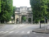 Triumphal Arch as we leave Orange