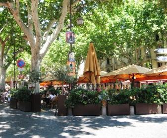 Avignon - Place de l'Horloge - the centre of things