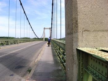 Avignon to Orange -crossing the Rhone