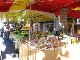 Herbs and spices stall - divine smells