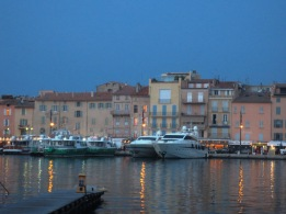 Saint Tropez at dusk