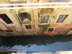 The canal beneath our room at wonderful Ca' Angeli