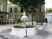 Orange -town fountain