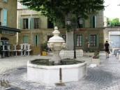 Orange -town fountain