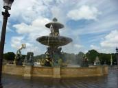 Paris - Fountain the Place de la Concorde