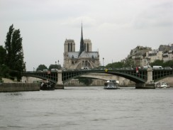 Paris - Notre Dame from the Seine