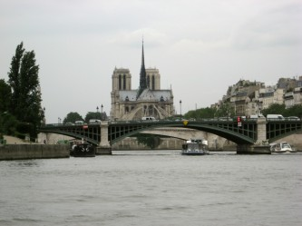 Paris - Notre Dame from the Seine