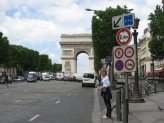 Paris -on the Champs Elysee
