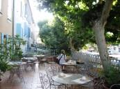 Hotel Burrhus terrace