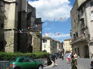 Decos starting to go up for Bastille Day