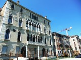 Intricate facade on the Grand Canal