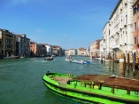 Refuse boat on the Grand Canal