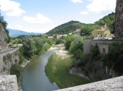 From the old bridge in Vaison de la Romaine