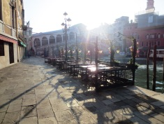 Early morning and people-free along the Grand Canal