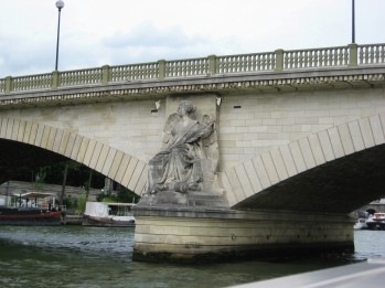 Paris - Bridge over the Seine - detail