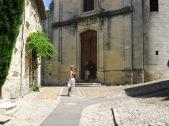The facade of the Upper town church