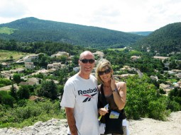 Vaison - upper town summit