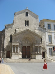 Arles - church in the main square