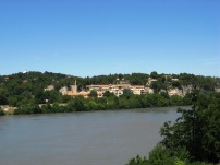 On the way to Villeneuve-Les-Avignon