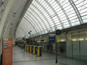 Interior of the TGV station, Avignon 2