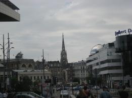 Stopver in Lille TGV station