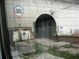 UK -Entering the Chunnel