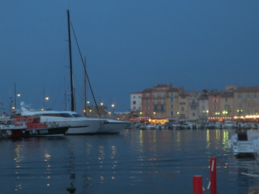 St Tropez at dusk