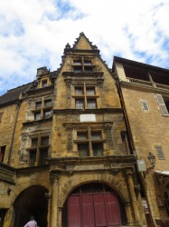 Facade in Sarlat