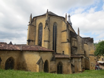 Sarlat church
