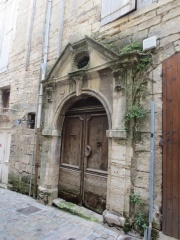 Cool door in Pezenas