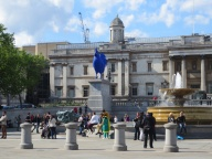 the National Gallery and Blue Cock...