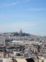 Sacre Coeur from the Pompidou Centre