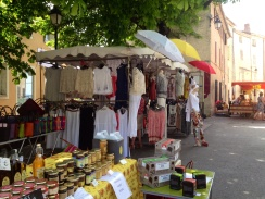 Callas market stall