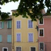 Pretty pastel shutters in Le Muy