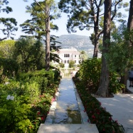 View back to the Villa from the Temple of Love