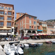 Waterfront colour at Villefranche-sur-Mer