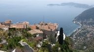 fabulous view from the Botanic Garden at Eze