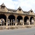 The original market place in Chipping Campden