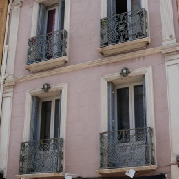 France has the most beautiful wrought iron railings