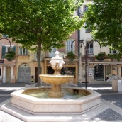 Frejus water fountain