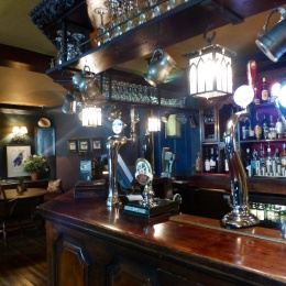 Interior The Bay Tree pub