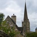 The church spire