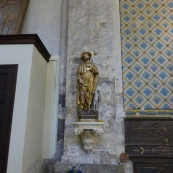 Statue in St Jean-Baptiste church, Fayence