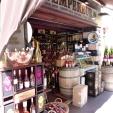 Wine shop near the covered Provençal market.