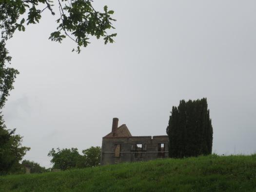 Oradour ruin