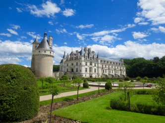 Chenonceau could have come out of a fairytale