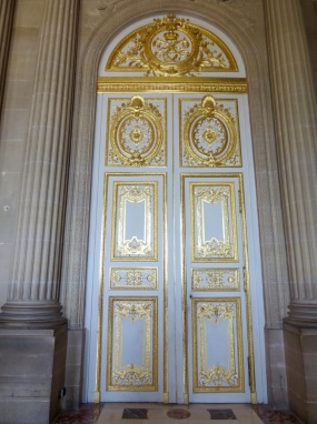 The vestibule doors