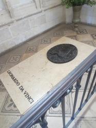 Da Vinci lies here