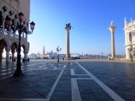 People-free Piazza San Marco