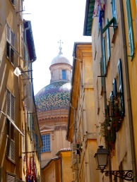 Stunning dome of Cathédrale Sainte-Réparate de Nice.